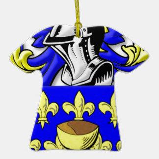 Escudo de armas de Coppola Adorno De Cerámica En Forma De Playera