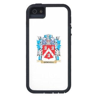 Escudo de armas de Cordell - escudo de la familia iPhone 5 Carcasas