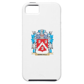 Escudo de armas de Cordell - escudo de la familia iPhone 5 Carcasa