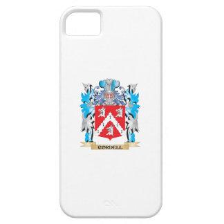 Escudo de armas de Cordell - escudo de la familia iPhone 5 Case-Mate Cobertura