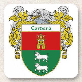 Escudo de armas de Cordero/escudo de la familia Posavaso