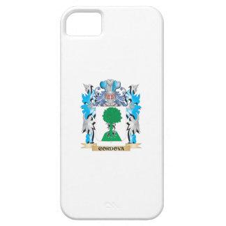Escudo de armas de Cordova - escudo de la familia iPhone 5 Protectores