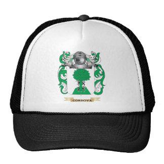 Escudo de armas de Cordova Gorro De Camionero