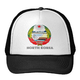 Escudo de armas de Corea del Norte Gorros