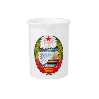 Escudo de armas de Corea del Norte Jarras De Beber