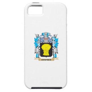 Escudo de armas de Cormier - escudo de la familia iPhone 5 Cárcasa