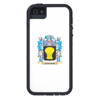 Escudo de armas de Cormier - escudo de la familia iPhone 5 Case-Mate Protectores