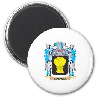 Escudo de armas de Cormier - escudo de la familia Iman Para Frigorífico