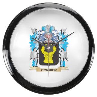 Escudo de armas de Cormier - escudo de la familia Relojes Aquavista