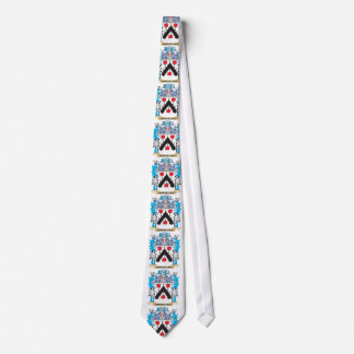 Escudo de armas de Cornelio - escudo de la familia Corbata Personalizada