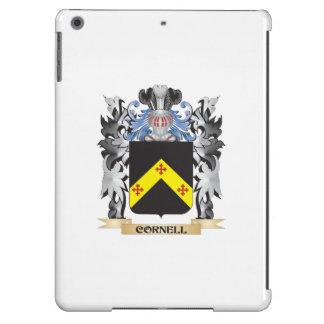 Escudo de armas de Cornell - escudo de la familia Funda Para iPad Air