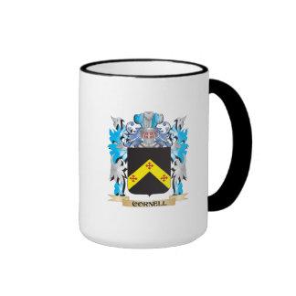Escudo de armas de Cornell - escudo de la familia Taza