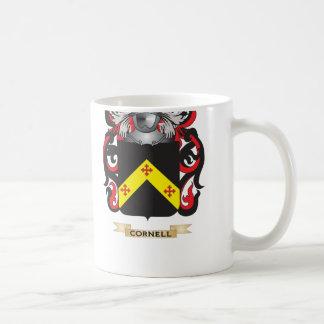 Escudo de armas de Cornell Tazas