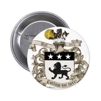 Escudo de armas de coronel Guillermo Ball de Virgi Pin
