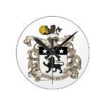 Escudo de armas de coronel Guillermo Ball de Virgi Relojes