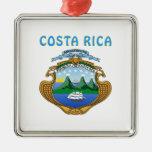 Escudo de armas de Costa Rica Ornaments Para Arbol De Navidad