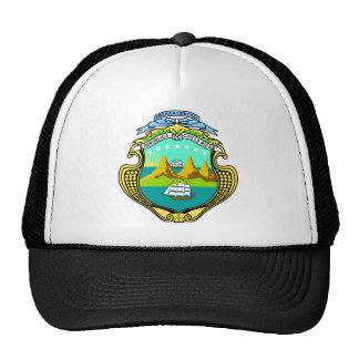 Escudo de armas de Costa Rica Gorra
