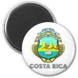 Escudo de armas de Costa Rica Imanes Para Frigoríficos