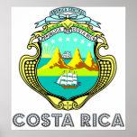 Escudo de armas de Costa Rica Impresiones