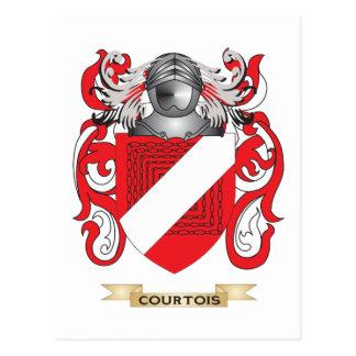 Escudo de armas de Courtois Postal