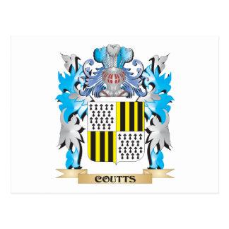 Escudo de armas de Coutts - escudo de la familia Postal