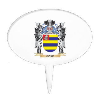 Escudo de armas de Coxe - escudo de la familia Figura De Tarta