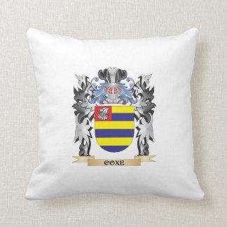 Escudo de armas de Coxe - escudo de la familia Cojin
