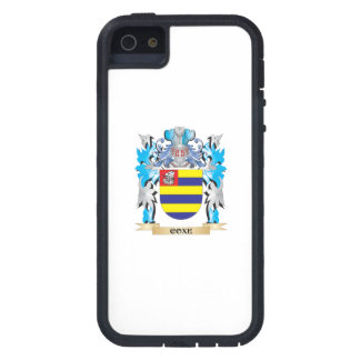 Escudo de armas de Coxe - escudo de la familia iPhone 5 Case-Mate Protectores