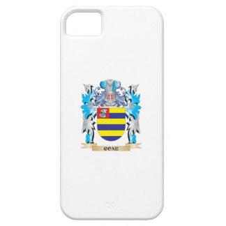 Escudo de armas de Coxe - escudo de la familia iPhone 5 Cárcasas