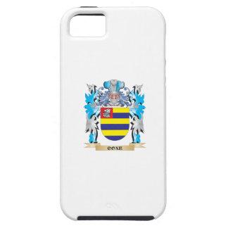 Escudo de armas de Coxe - escudo de la familia iPhone 5 Protectores