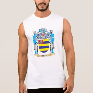 Escudo de armas de Coxe - escudo de la familia Camisetas Sin Mangas