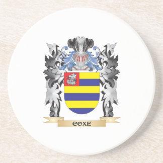 Escudo de armas de Coxe - escudo de la familia Posavasos Diseño
