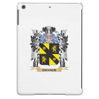 Escudo de armas de Cramer - escudo de la familia Funda Para iPad Air