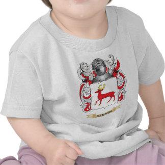 Escudo de armas de Cremin Camiseta