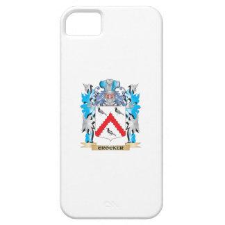 Escudo de armas de Crocker - escudo de la familia iPhone 5 Protector