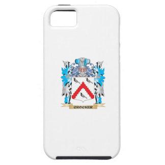 Escudo de armas de Crocker - escudo de la familia iPhone 5 Protectores
