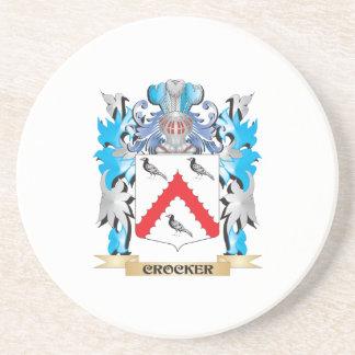 Escudo de armas de Crocker - escudo de la familia