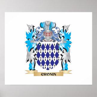 Escudo de armas de Cronin - escudo de la familia