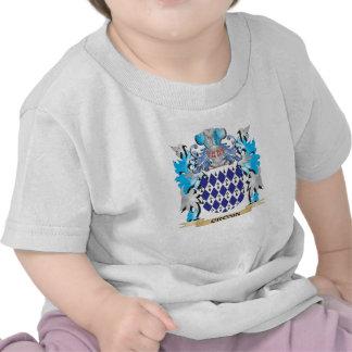 Escudo de armas de Cronin - escudo de la familia Camisetas