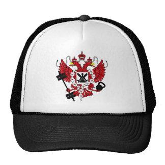 Escudo de armas de Crossfit WOD del ruso Gorro