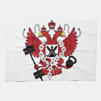 Escudo de armas de Crossfit WOD Toallas De Mano