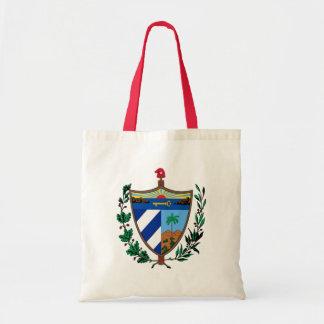 escudo de armas de Cuba Bolsa Tela Barata