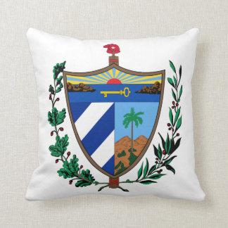 Escudo de armas de Cuba Cojín Decorativo