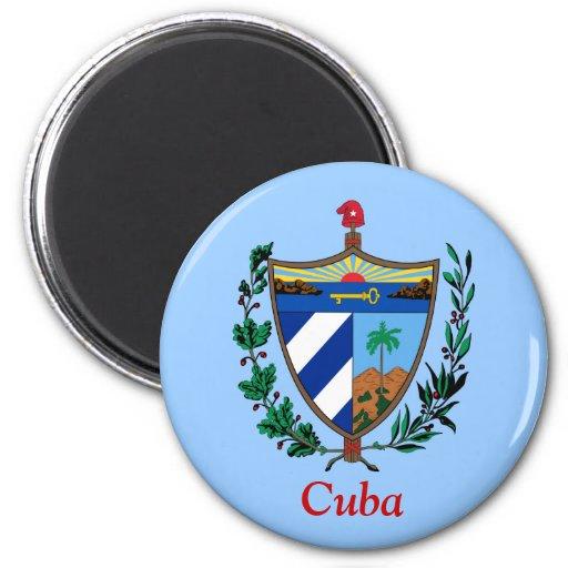 Escudo de armas de Cuba Iman De Frigorífico