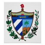 Escudo de armas de Cuba Impresiones