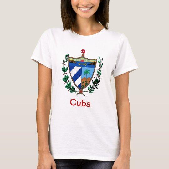 Escudo de armas de Cuba Playera
