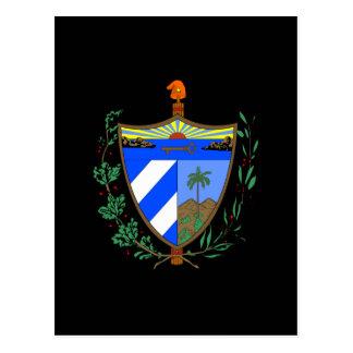 Escudo de armas de Cuba Postales