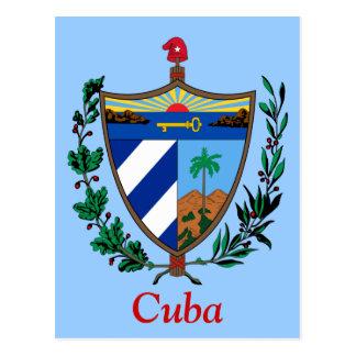 Escudo de armas de Cuba Tarjetas Postales