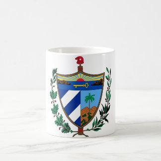 escudo de armas de Cuba Tazas