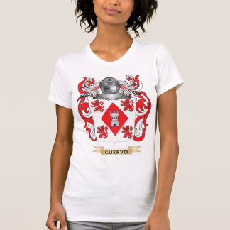 Escudo de armas de Cuervo Camisetas